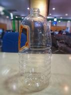 Chai nhựa Pet 2 lít đựng dầu ăn, nước nắm Ms: DA 12